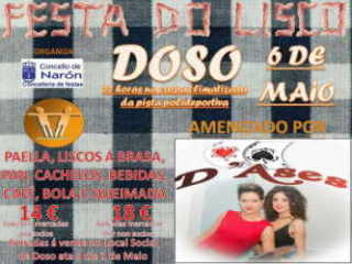 � VENDA AS ÚLTIMAS ENTRADAS PARA A FESTA DO LISCO QUE SE CELEBRAR� EN DOSO